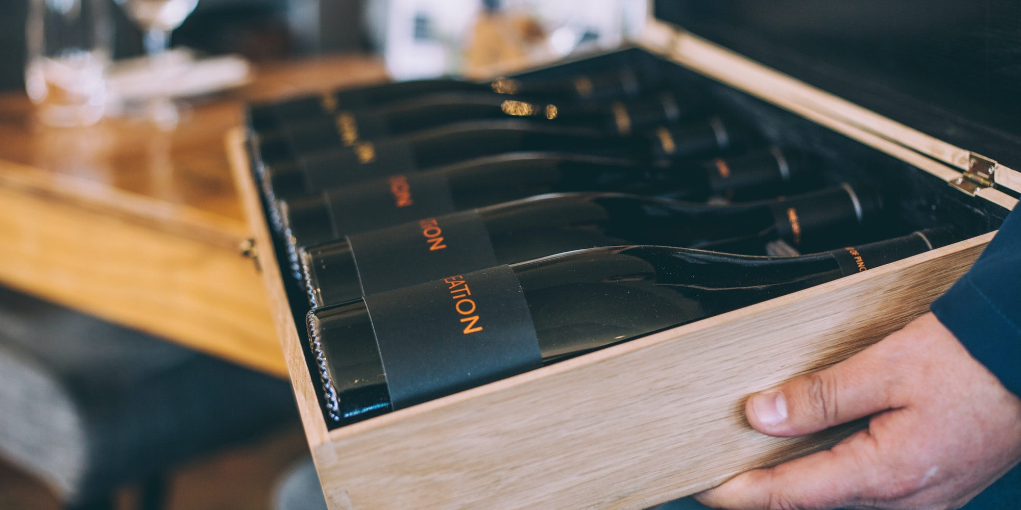 A collection of wine at Creation Wine Estate in Hermanus Image credit Shawn Ugulu