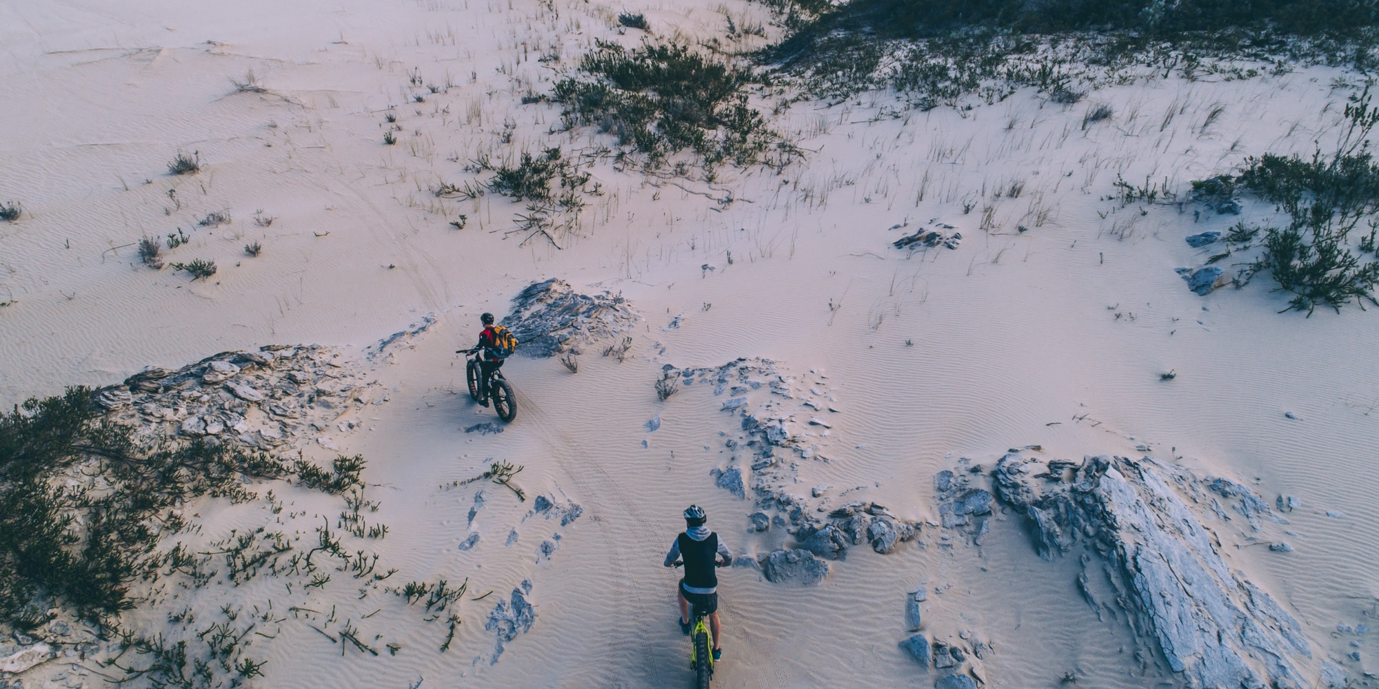 Fat Biking in Gansbaai Image Shawn Ugulu