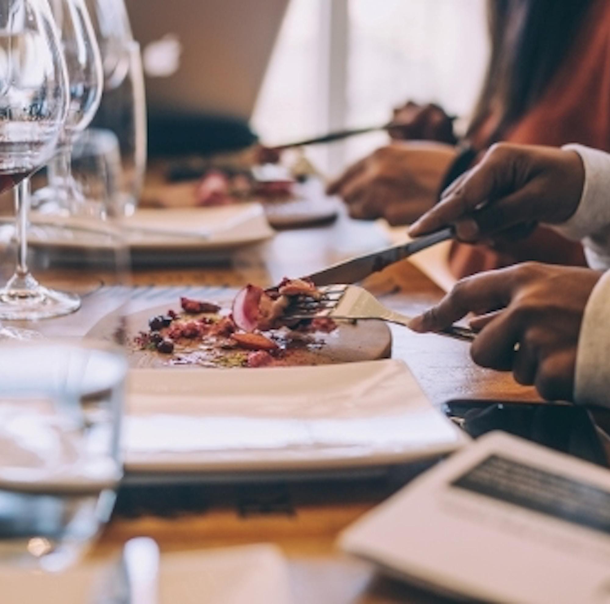 Fine dining at Creation Wine Estate Image credit Shawn Ugulu