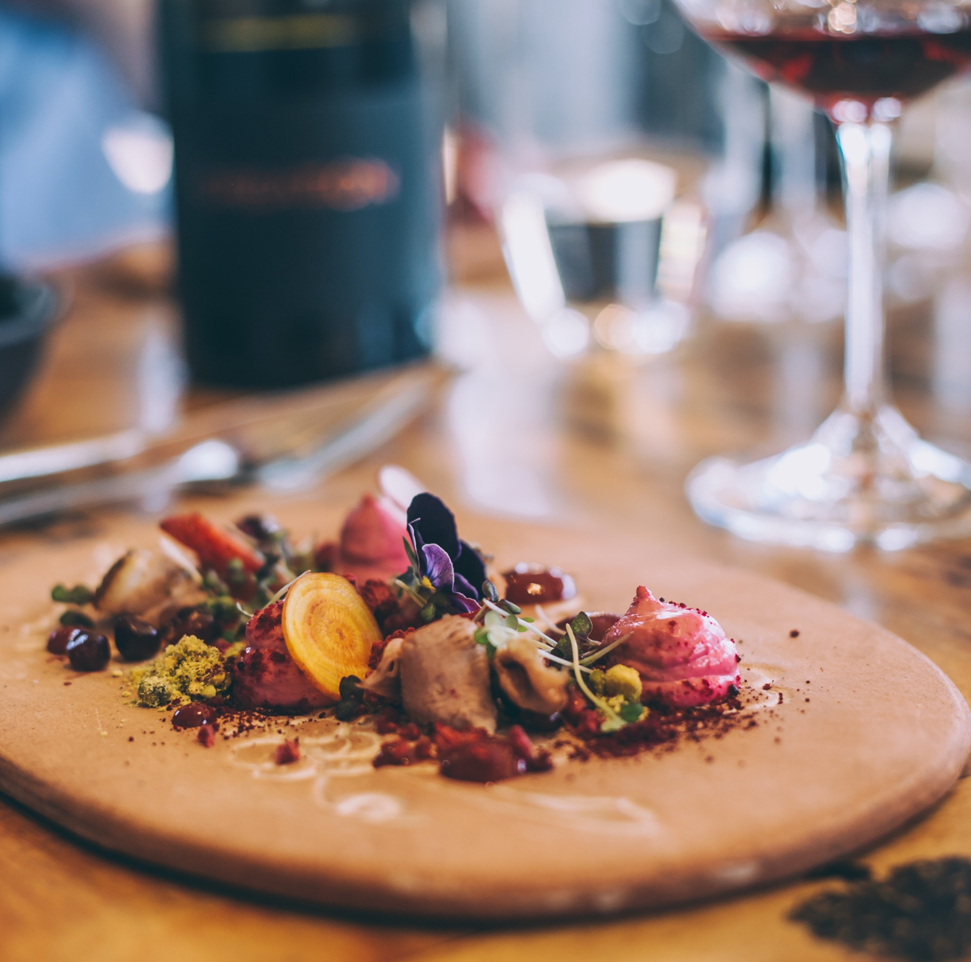 Food and Wine at Creation Wine Estate in Hermanus Image credit Shawn Ugulu