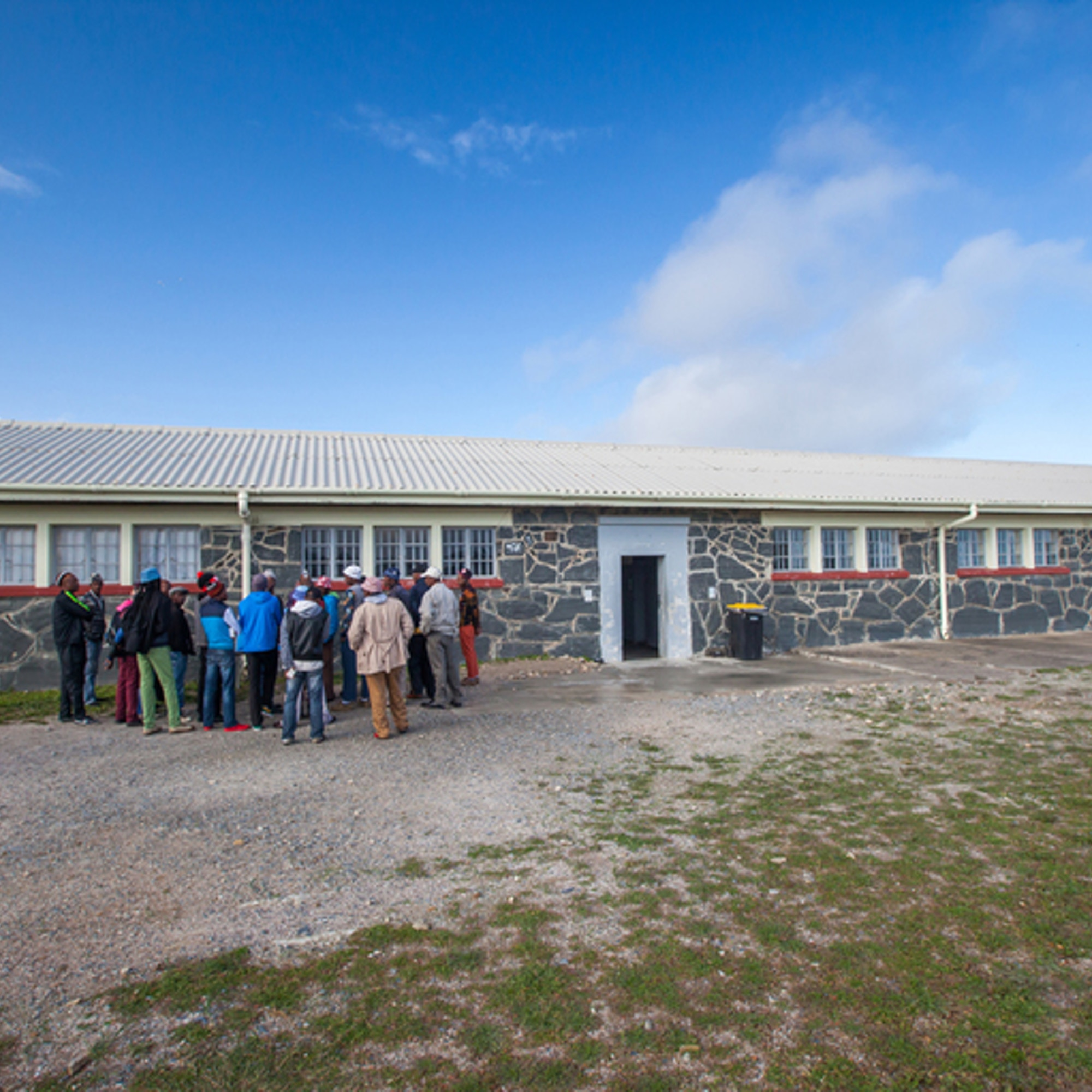 People at Robben Island Museum