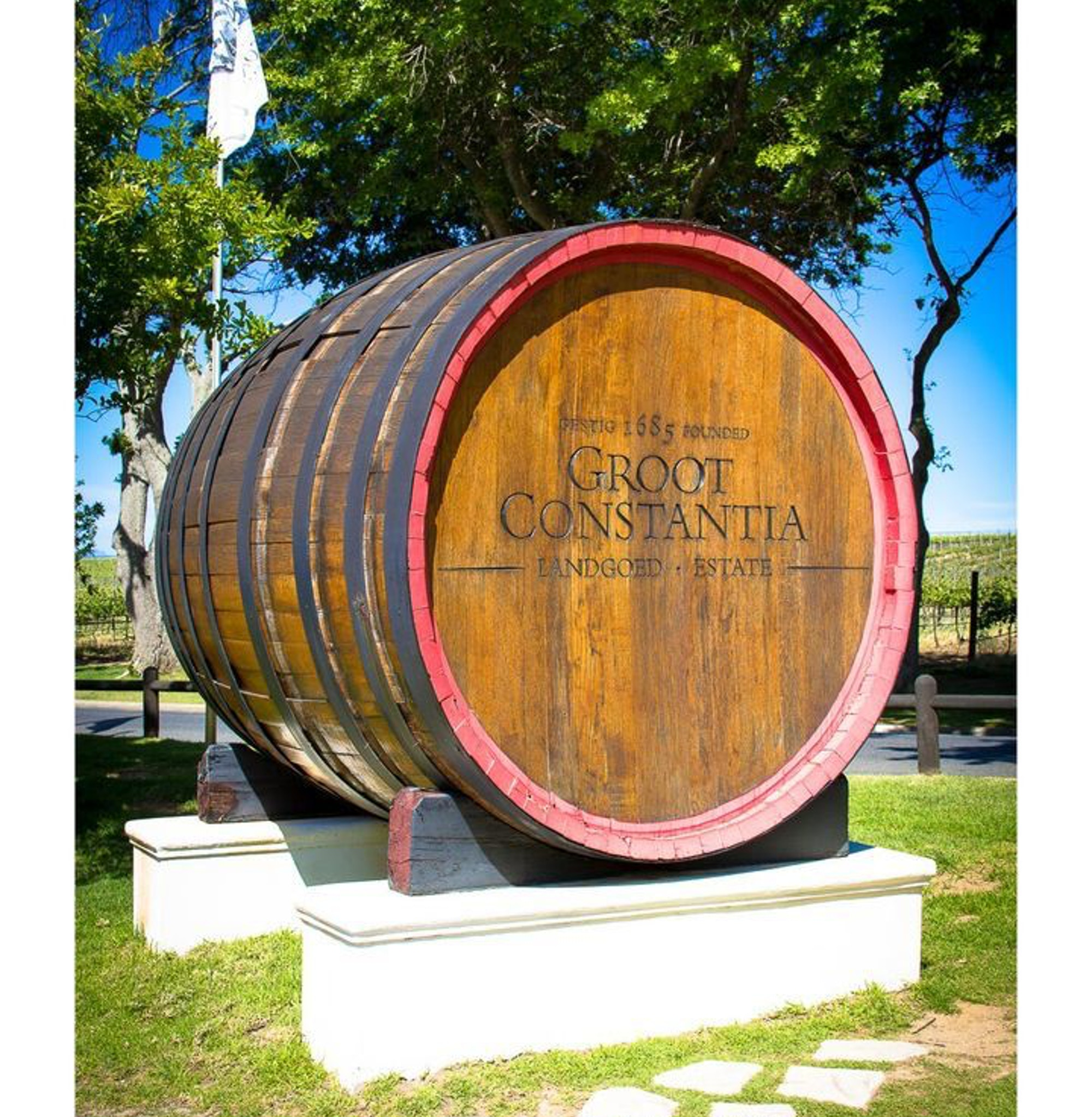 Wine Barrel at Groot Constantia