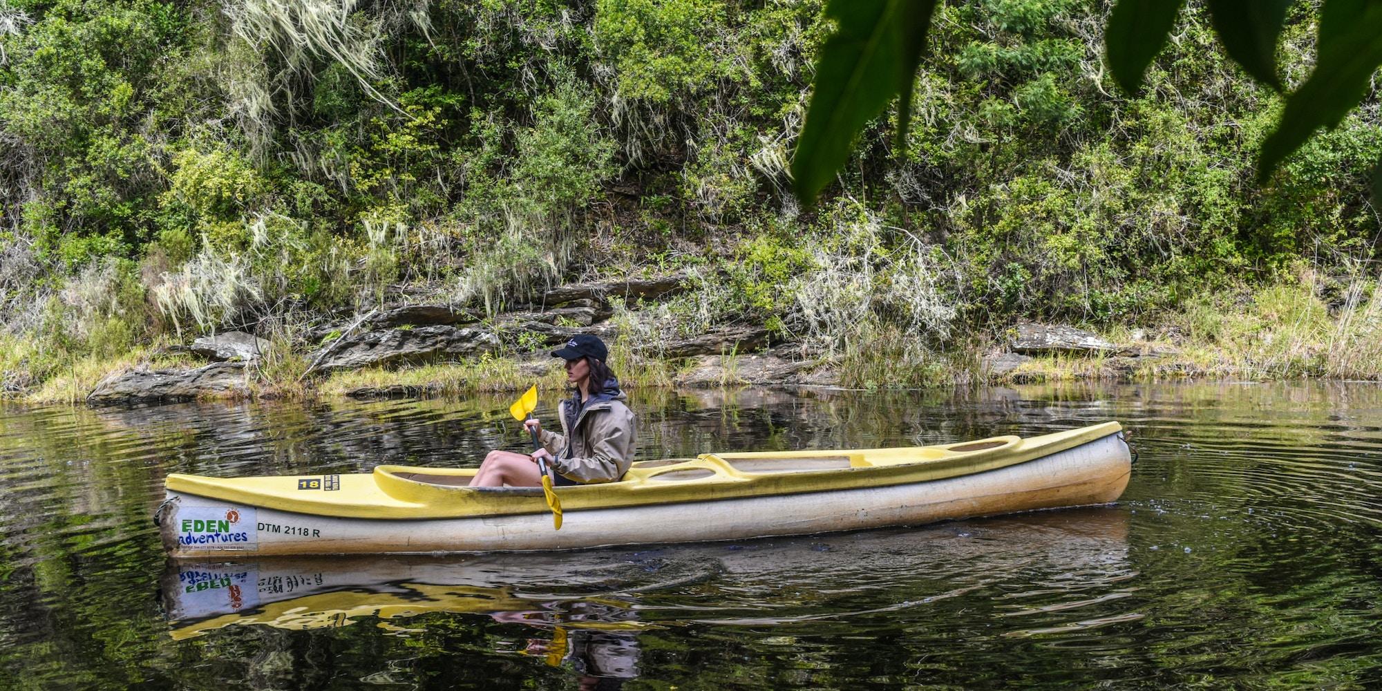 Kayaking eden adventures 1 elise kirsten